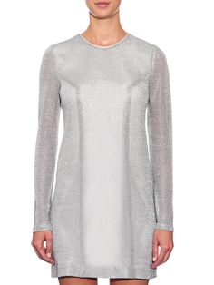 Chainmail-effect knit dress | Galvan | MATCHESFASHION.COM UK
