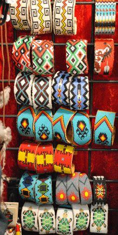 Gina- Fashion Bracelet- Indian Beaded Cuff