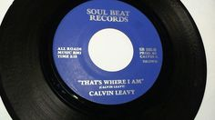 CALVIN LEAVY - That's Where I Am / Cummins Prison (Funk Soul 45) Soul Beat #FunkSoul