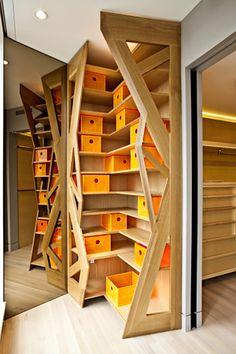 shoe storage... but would make a wonderful bookcase