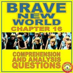 272 Best Brave New World Lessons, Activities, and Classroom