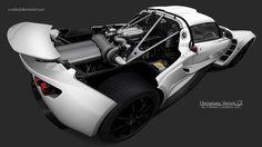 Hennessey Venom GT White by X-Raited.deviantart.com on @deviantART