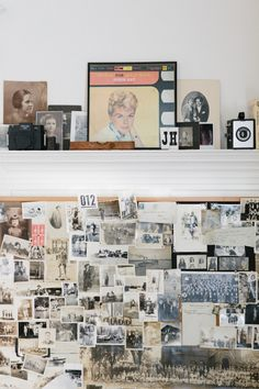 A huge collection of vintage photographs in San Francisco.