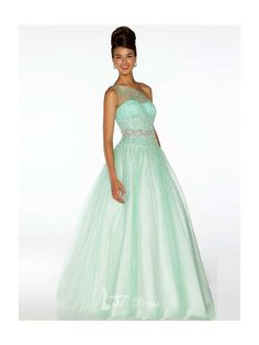 Ball Gown One-shoulder Sleeveless Beading Floor-Length Tulle Quinceanera  Dresses  dress   03d64b27a57a