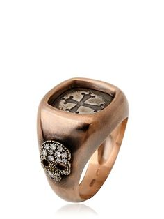 BONATO MILANO 1960 - CROSS CHEVALIER RING