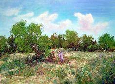 Carlos Giner - Spanish impressionist Impressionist Artists, Vineyard, Spanish, Plants, Outdoor, Impressionism, Outdoors, Vine Yard, Vineyard Vines