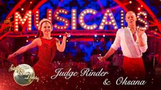 Judge Rinder & Oksana Samba to 'Oh! What a Night!' from Jersey Boys - St...