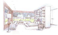 Loft 24-7, drawing courtesy Fernanda Marques Arquitetos Associados