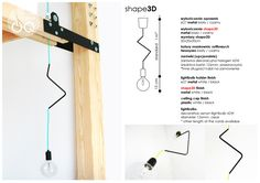 Lamp - CablePower One Basic Garden Shop, Home And Garden, Kitchen Accessories, Sweet Home, Bulb, Shopping, Cable, Kitchen Fixtures, House Beautiful