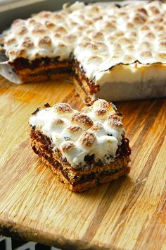 S'more Brownies...no campfire necessary
