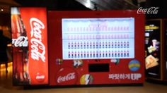 Coke dance vending machine.  Wish it gave out bottled water instead…  :/