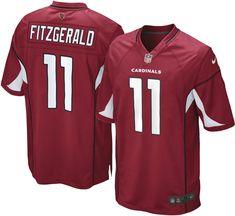 3e08de296 Nike Boys  Home Game Jersey Arizona Cardinals Larry Fitzgerald  11