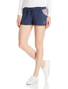 Fox Juniors Vitalize Space Dye French Terry Short Midnight Small * See this great product.