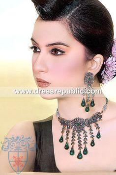 Style DRJ1034, Product code: DRJ1034, by www.dressrepublic.com - Keywords: Kundan Jewellery Online Shop Kent, UK, Kundan Jewellers UK