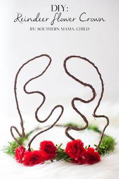 DIY Reindeer Flower