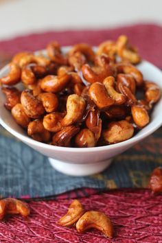 #paleo PaleOMG Smoky and Spicy Candied Cashews