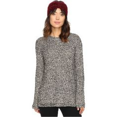 3779375-p-2x Best Deal Project Social T  Stormy Stitched Sweater (Charcoal Space Dye) Women's Sweater