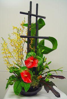 flower arrangement   Flickr - Photo Sharing!