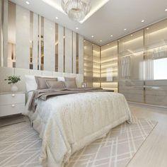 Bedroom Bed Design, Bedroom Furniture Design, Modern Bedroom Design, Home Room Design, Dream Home Design, Room Decor Bedroom, Home Interior Design, Suites, New Home Designs