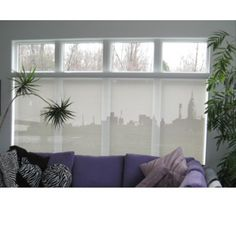 Melissa Borrell Design Manhattan Skyline Window Shade