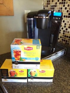Warm start to the day with Lipton tea K-Cups – #Lipton #Keurig #Giveaway {Ends 12/28}