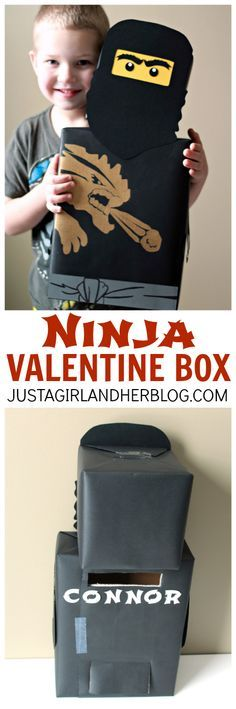 AWESOME Valentine Box idea for boys!   Just a Girl and Her Blog