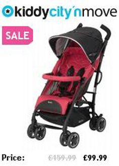 Kiddy City n Move in your choice of 14 colours currently on offer at £99.99 with free next day delivery.  http://everything-baby.kiddy-shop.co.uk/kiddycitynmove.html