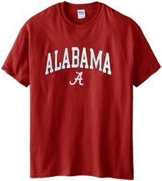 NCAA Alabama Crimson Tide Gildan T-Shirt, XX-Large, Crimson  #Alabama #Crimson #Gildan #NCAA #Tide #TShirt #XXLarge boisestategear.com