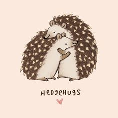 If in doubt, hedgehug it out!