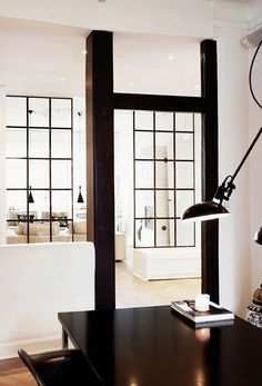 <p>Today we're taking you into the home of Naja Munthe, designer and founder of the brand Munthe plus Simonsen.  The Danish creative finds peace and balance under high ceilings, modern, casual f