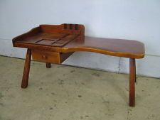 Hard-Working 1933 Cushman Colonial Creation Cobbler Bench Furniture