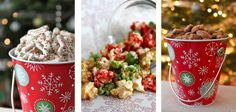 """thinking of middle picture (caramel corn) could be done in any """"holiday"""" colour"""