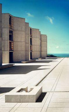 Salk Institute for Biological Studies by Louis Kahn
