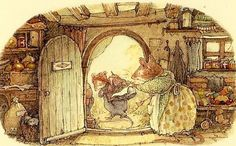 Brambly Hedge by Jill Barklem, author and illustrator
