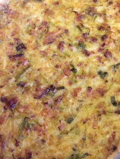 Quiche de Alho Poro e bacon