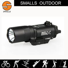 hot sale New tactical flashlight SF style X300 Ultra LED Weapon Light fits 20mm picatinny rail for hunting for shooting