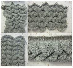 Sasha J Hocking - partial knitting