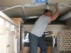 My Favorite Pop-Up Slide-In Truck Camper Design For DIY   Living Off The Grid In A DIY Home Built Truck Camper   Dirt Cheap Living