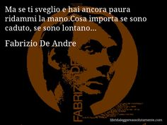 Cartolina con aforisma di Fabrizio De Andre (26)