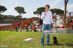 Tennis player Alexander Zverev is photographed for Paris Match on May 7, 2016 in Rome, Italy.