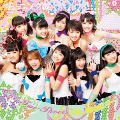 Morning Musume's 50th Single「One・Two・Three/The摩天楼ショー」 (Limited Edition A Cover)