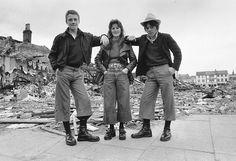 Credit: Frank Tewkesbury/Getty Images Teenagers in Belfast, 1974