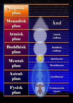 De 7 bevidsthedsplaner