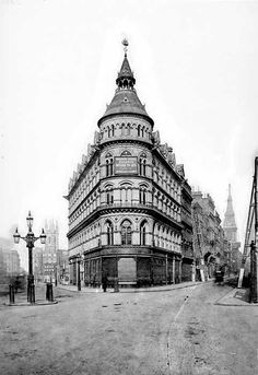 Mappin & Webb Building, No.1 Poultry, London (demolished)