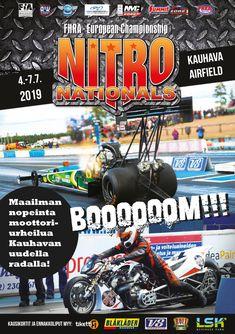 Nitro Nationals 2019 Kauhava FHRA ry Sissi, Avon, Comic Books, Comics, Cover, Cartoons, Cartoons, Comic, Comic Book