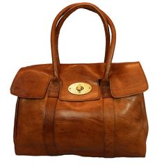 herbert classic leather tote bag by ismad london | notonthehighstreet.com