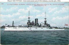 USS Alabama BB-8