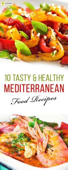 Are you looking for a change of diet and still keep it healthy? Then these mediterranean food recipes are definitely the way to go. Try them out.