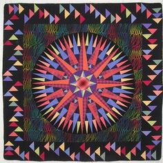 Pulsar Star by Judy Matheson  Love the borders