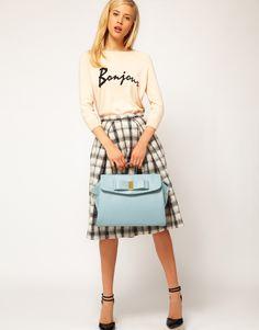 ASOS | ASOS Bow Smart Bag (35x27) at ASOS £32.00 OK for macbook air 13 inch